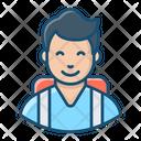 Student Graduate Student Schoolboy Icon