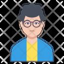 Student Child Man Icon
