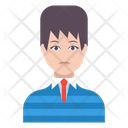 Student Boy Man Icon