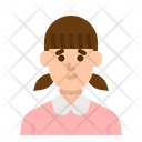 Student Girl People Icon
