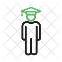 Student Standing Degree Icon