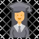 Student Graduate Education Icon