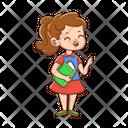 Student Girl Woman Icon