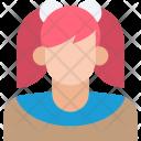 Student Female Girl Icon