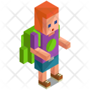 Backpacker Student Avatar Icon