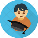 Student Avatar Mortarboard Icon