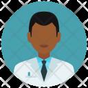 Medical Student Man Icon