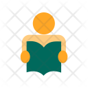 Student Book Education Icon