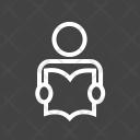 Student Study Book Icon