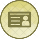 Student Id Card Icon