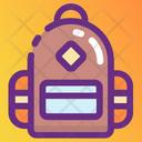 Knapsack Packsack Haversack Icon