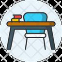 Student Desk Desk Study Table Icon