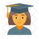 Education Female Girl Icon