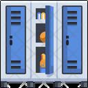 Student Locker Locker Safe Box Icon