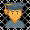 Boy Education Knowledge Icon