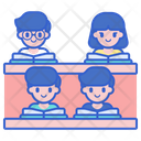 Student On Lecture Icon