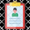 Student Profile Student Biodata Student Info Icon