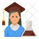Student Research Researcher Experimenter Icon