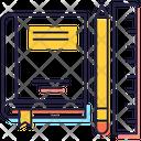 Student Stationery Icon