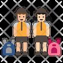 Students Student School Bag Icon