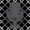 Studio Microphone Music Icon