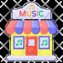 Music Shop Music Store Music Studio Icon