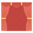 Studio Curtain Stage Curtain Stage Icon