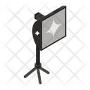 Studio Light Spotlight Light Box Icon