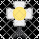 Studio Light Spotlight Floodlight Icon