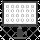 Studio Light Spotlight Camera Light Icon