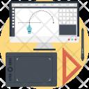 Graphic Design Illustration Icon