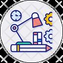 Study Workplace Freelance Icon