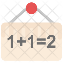 Addition Calculation Maths Icon