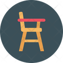 Study Desk Chair Icon
