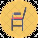 Study Desk Chair Icon