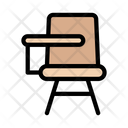 Chair Seat Classroom Icon