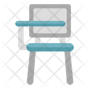 Study Chair Study Desk Table Icon