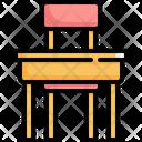Table Desk Education Icon