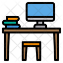 Classroom Desk School Icon