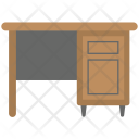 Office Desk Drawer Icon