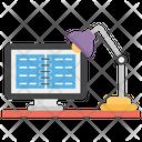 E Lab E Learning Virtual Learning Icon