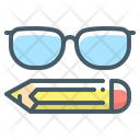 Study Glasses Icon