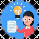 Study Innovation Study Idea Educational Idea Icon