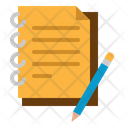 Study Note Note Study Icon