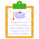 Study Plan Study Document Student File Icon