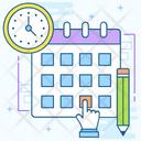 Study Plan Study Daybook Datebook Icon