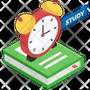 Study Plan Study Program Education Time Icon