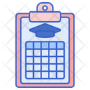 Study Plan Time Table Study Schedule Icon
