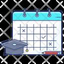 Study Plan Calendar Schedule Planner Icon