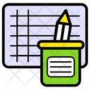Study Schedule Student Schedule Event Calendar Icon